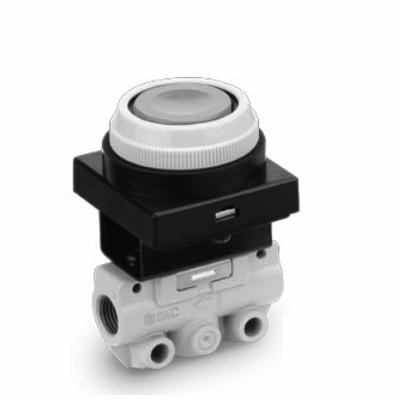 3 Port Mechanical Valve VM130-01-33BA