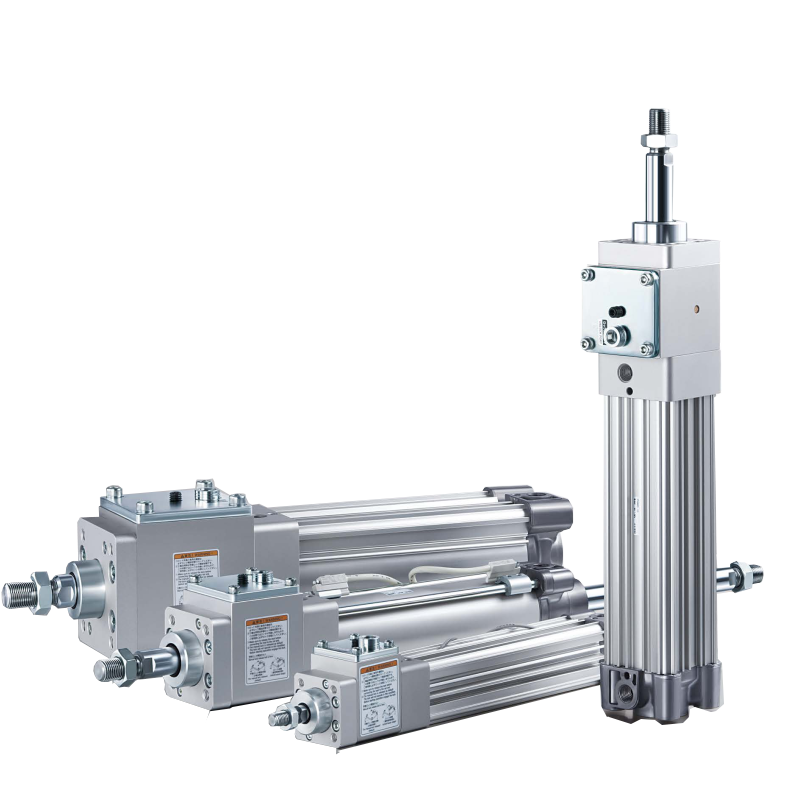 Air cylinder with lock