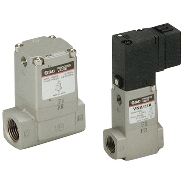 2 Port Valve for Compressed Air and Air-hydro Circuit Control VNA