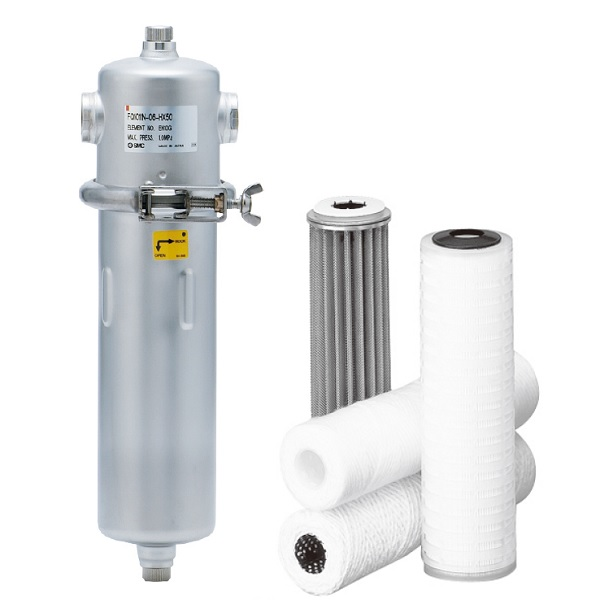 Quick Change Filter/For Cleaning Fluid FQ1