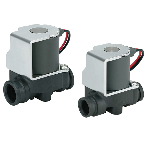 Compact/Lightweight 2 Port Solenoid Valve (2 Way Valve) for Air/Water VDW-XF