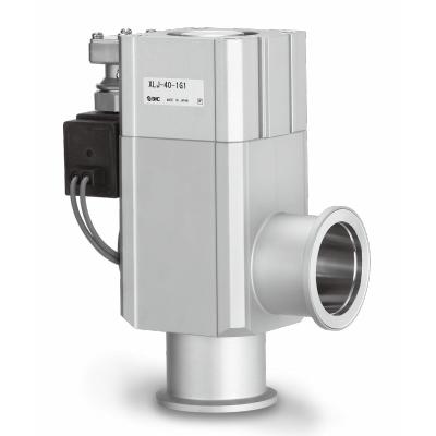 Vacuum angle valve