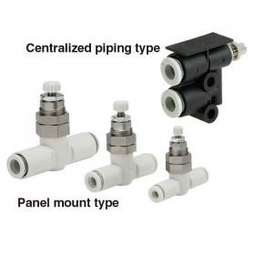In-line Panel Mount Type AS