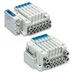 5 port flow control solenoid valve